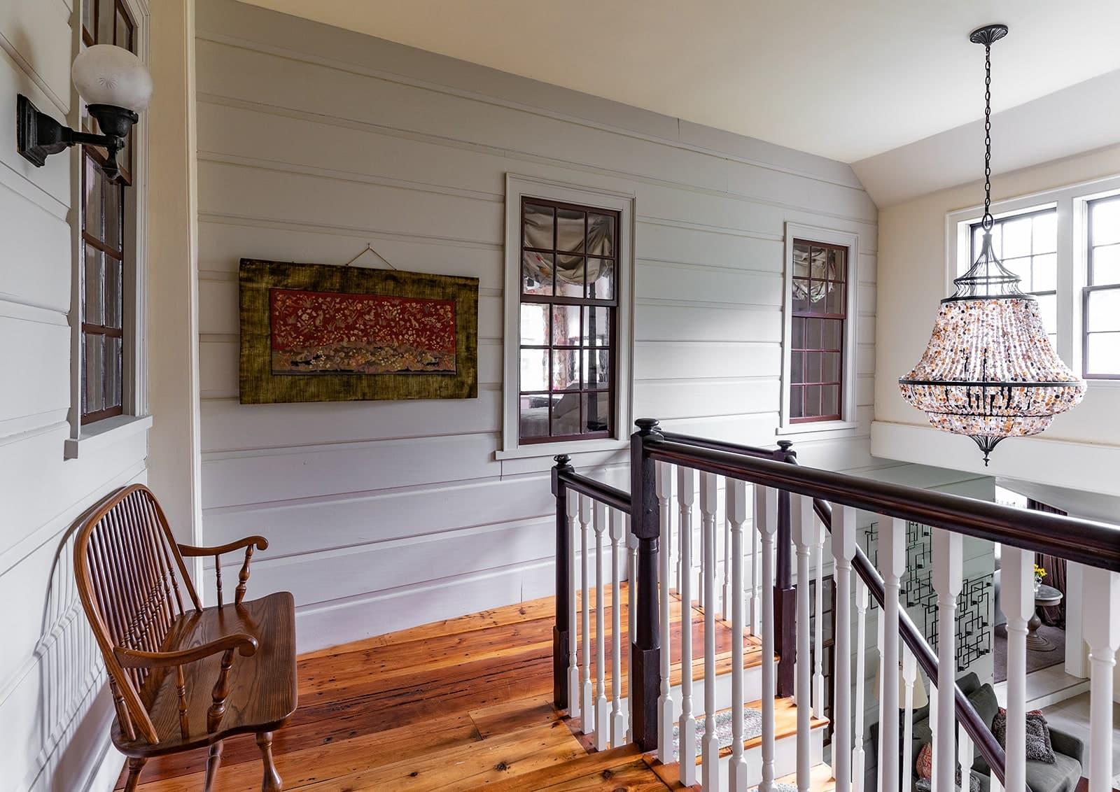 Day Dodge House Ipswich MA Historic Hallway Stairs