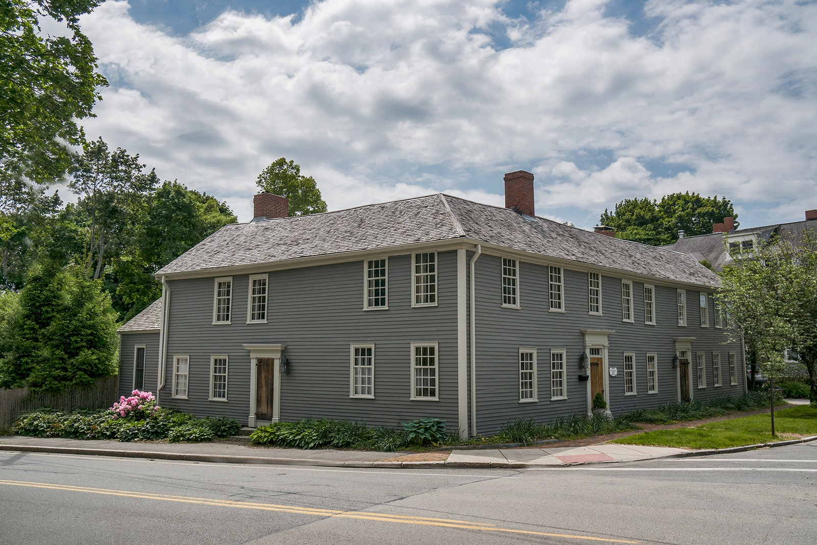 Day Dodge House Ipswich MA Historic Exterior