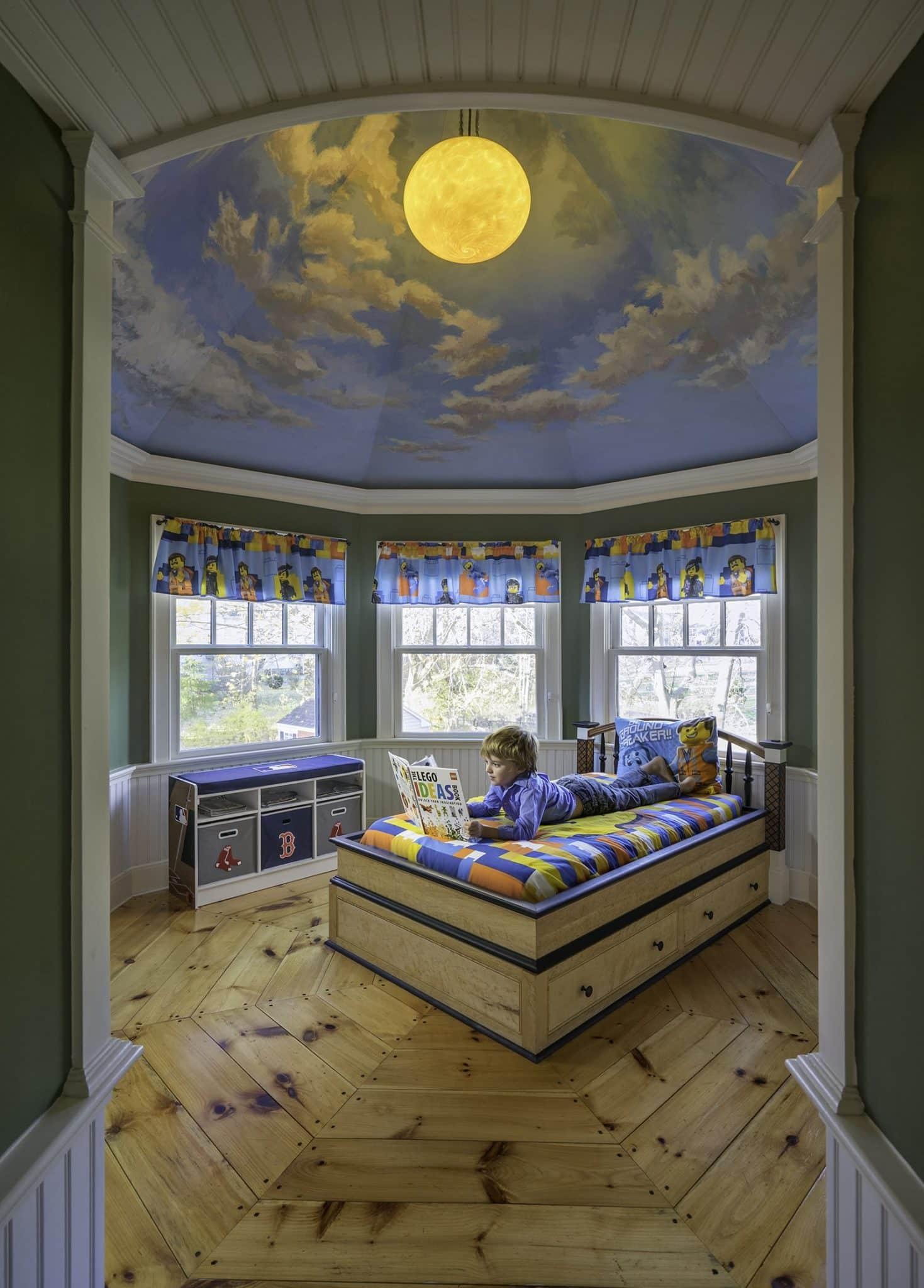 Eclectic Elegance Ipswich MA Bedroom