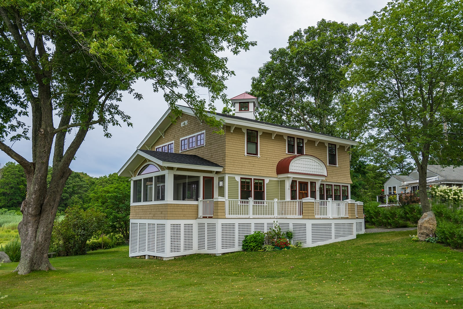 Gloucester MA Beach Cottage Exterior