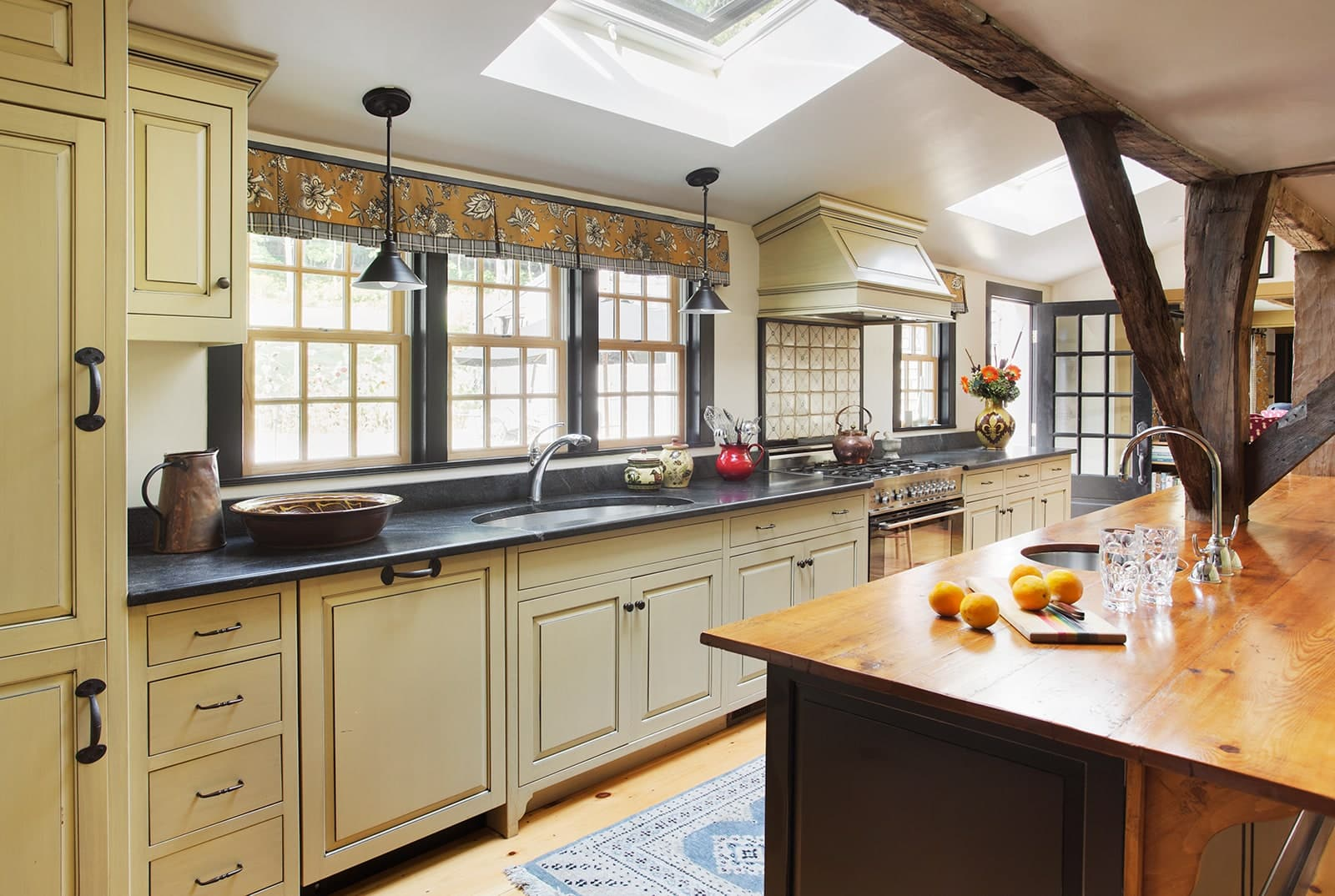 Lummus House Historic Colonial Ipswich MA Kitchen