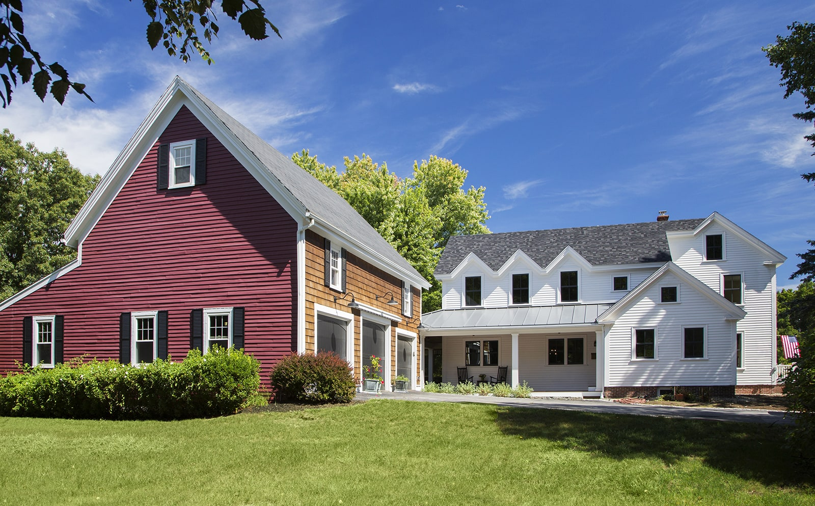 Lynnfield MA Farmhouse Exterior