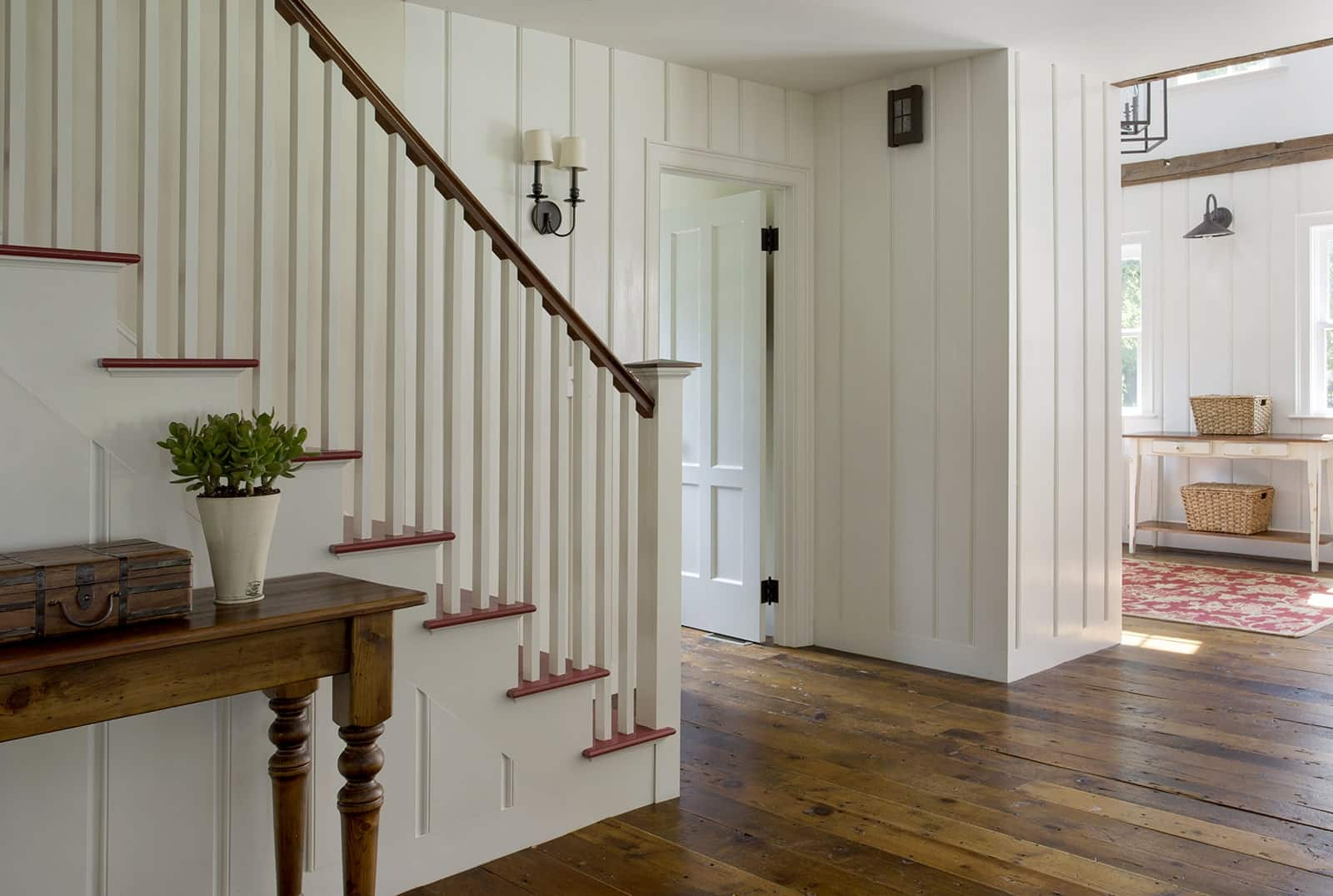 Lynnfield MA Farmhouse Stairs