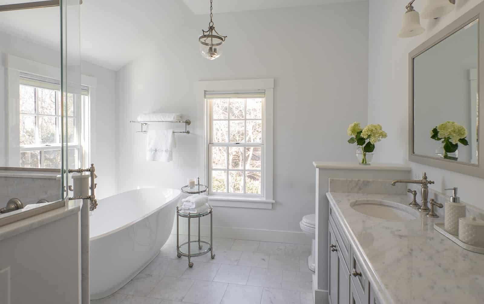 Timothy Hyde House Newton MA Bathroom