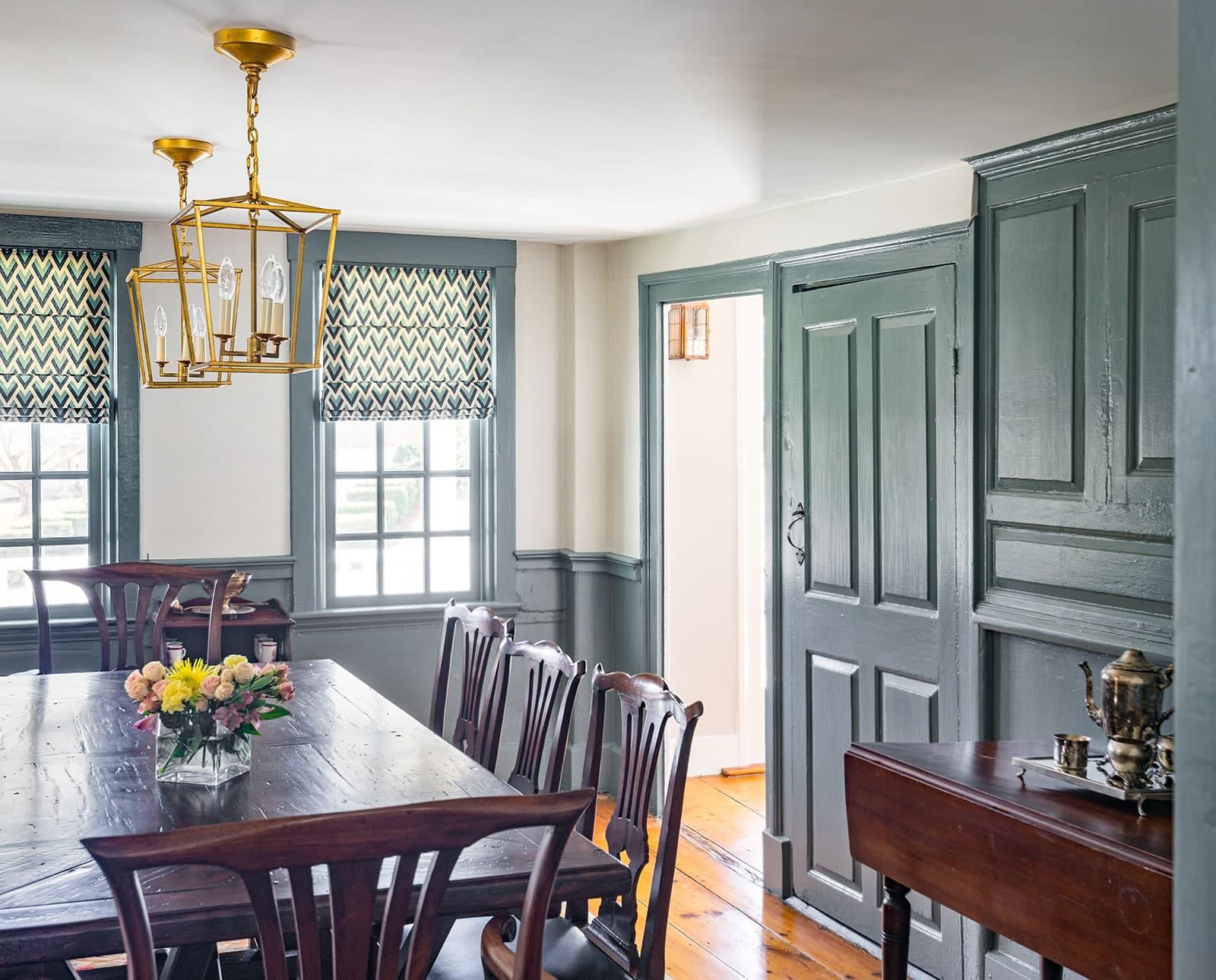 Timothy Hyde House Newton MA Dining Room
