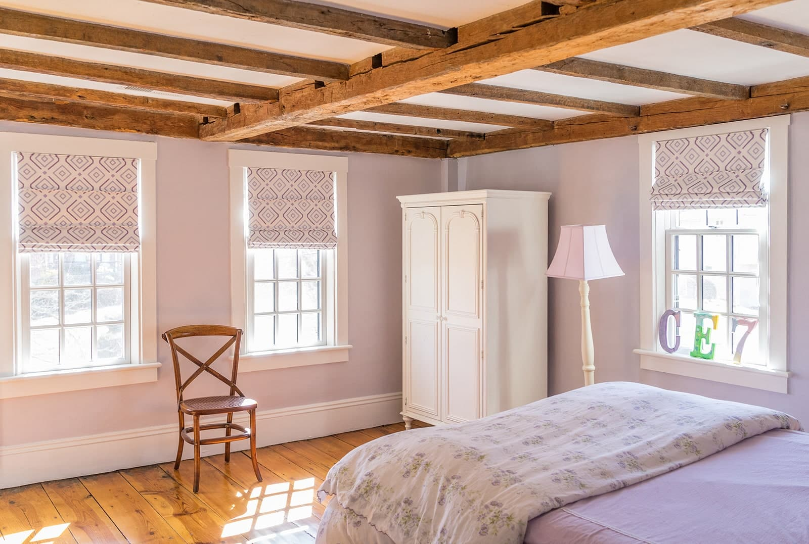 Timothy Hyde House Newton MA Bedroom