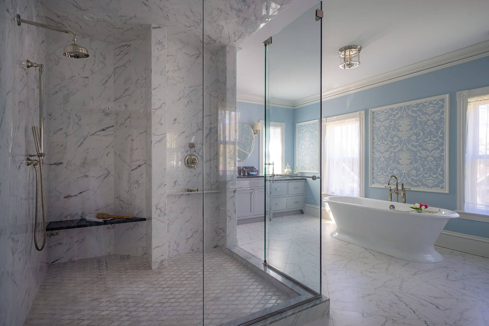Winchester MA Victorian a Bathroom