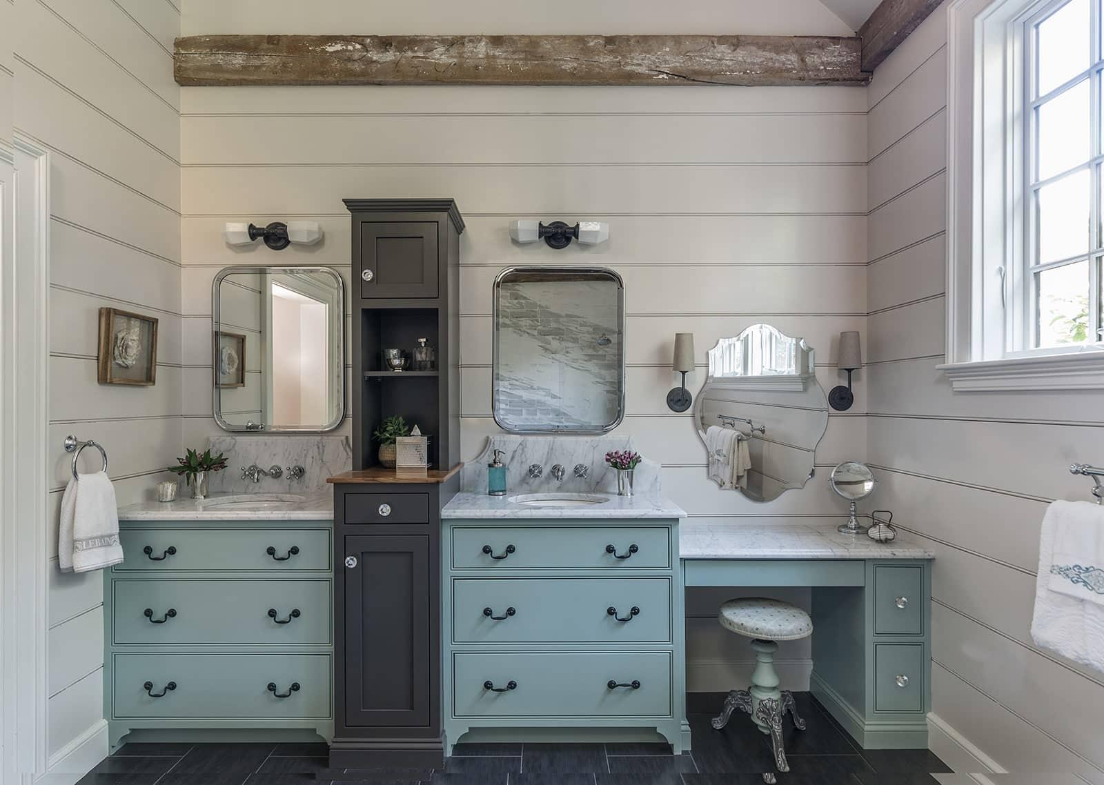 Farmhouse Flair Interiors Ipswich MA Bathroom