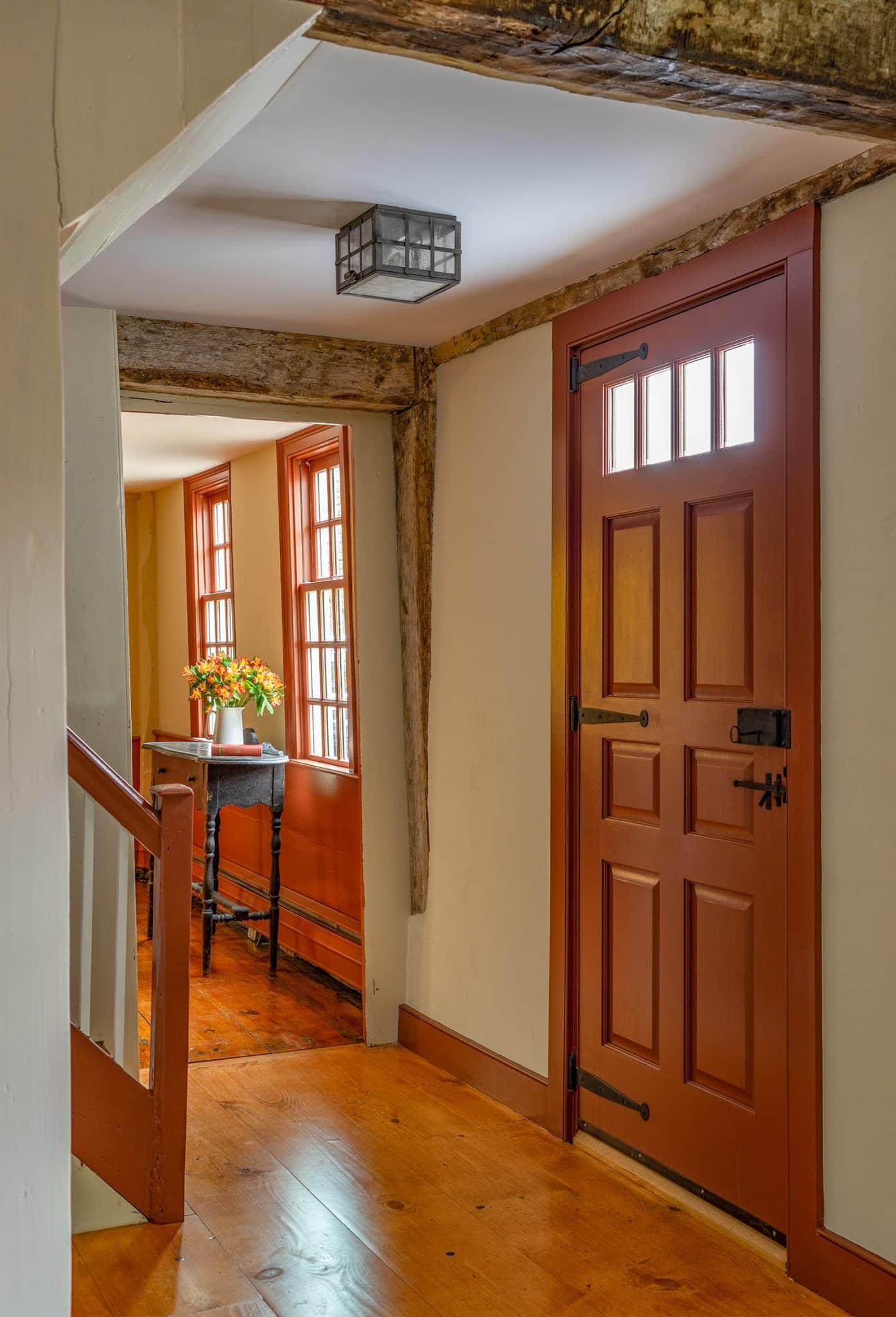 John Kimball Jr House Interiors Ipswich MA Entryway