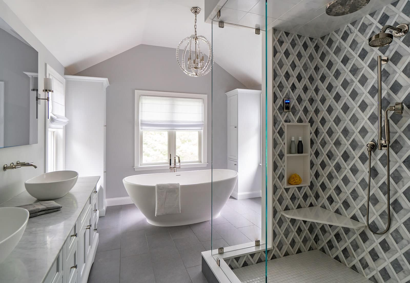 North Shore Tranquility Interiors Middleton MA aa Bathroom