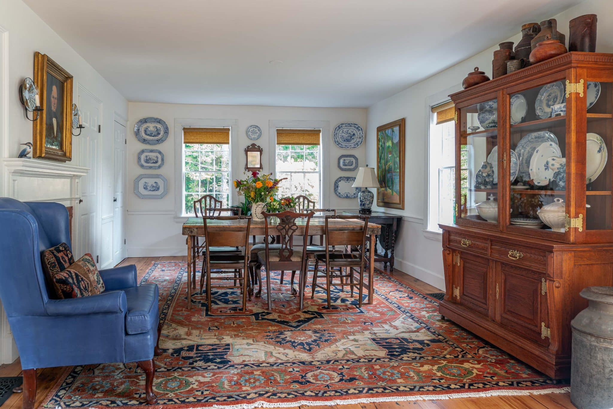 Arrowhead Farmhouse Newburyport MA Dining Room