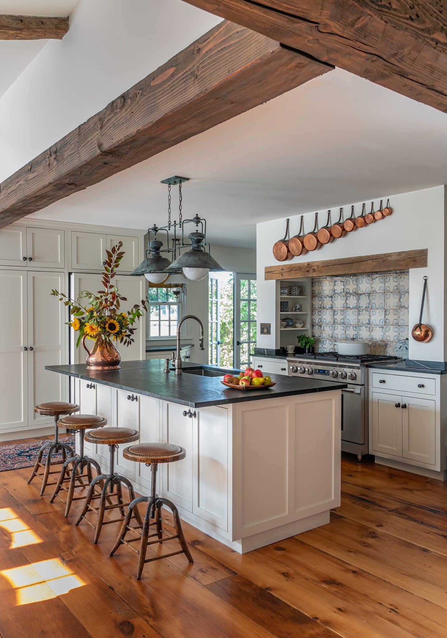 Arrowhead Farmhouse Newburyport MA Kitchen lowrez