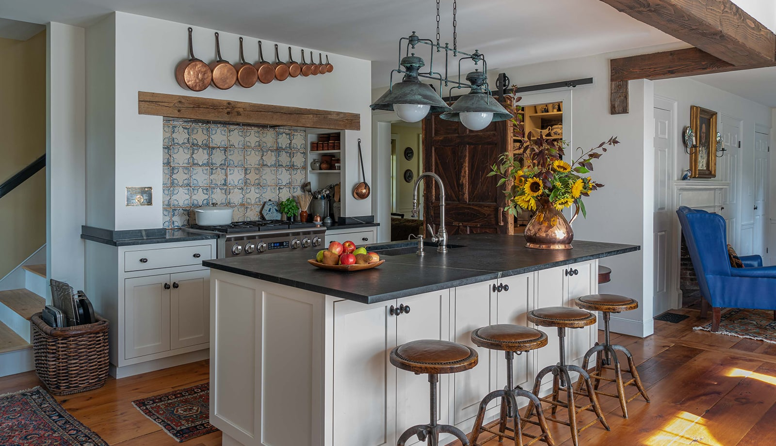 Arrowhead Farmhouse Newburyport MA Kitchen web
