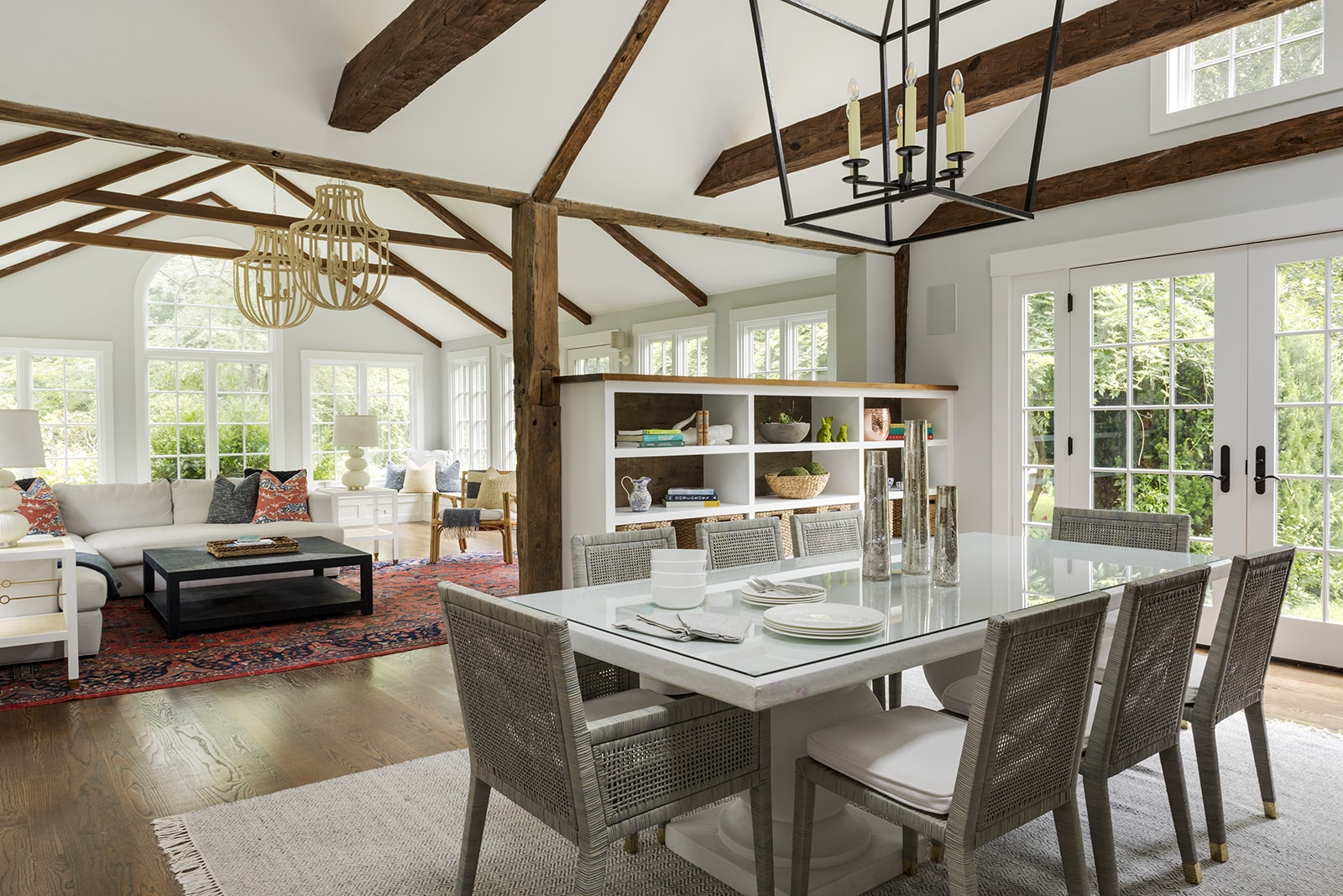 Asian Garden Colonial Hamilton MA Dining Room