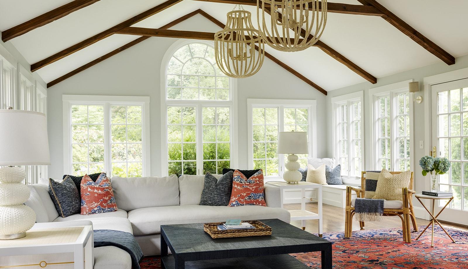 Asian Garden Colonial Hamilton MA Living Room featured