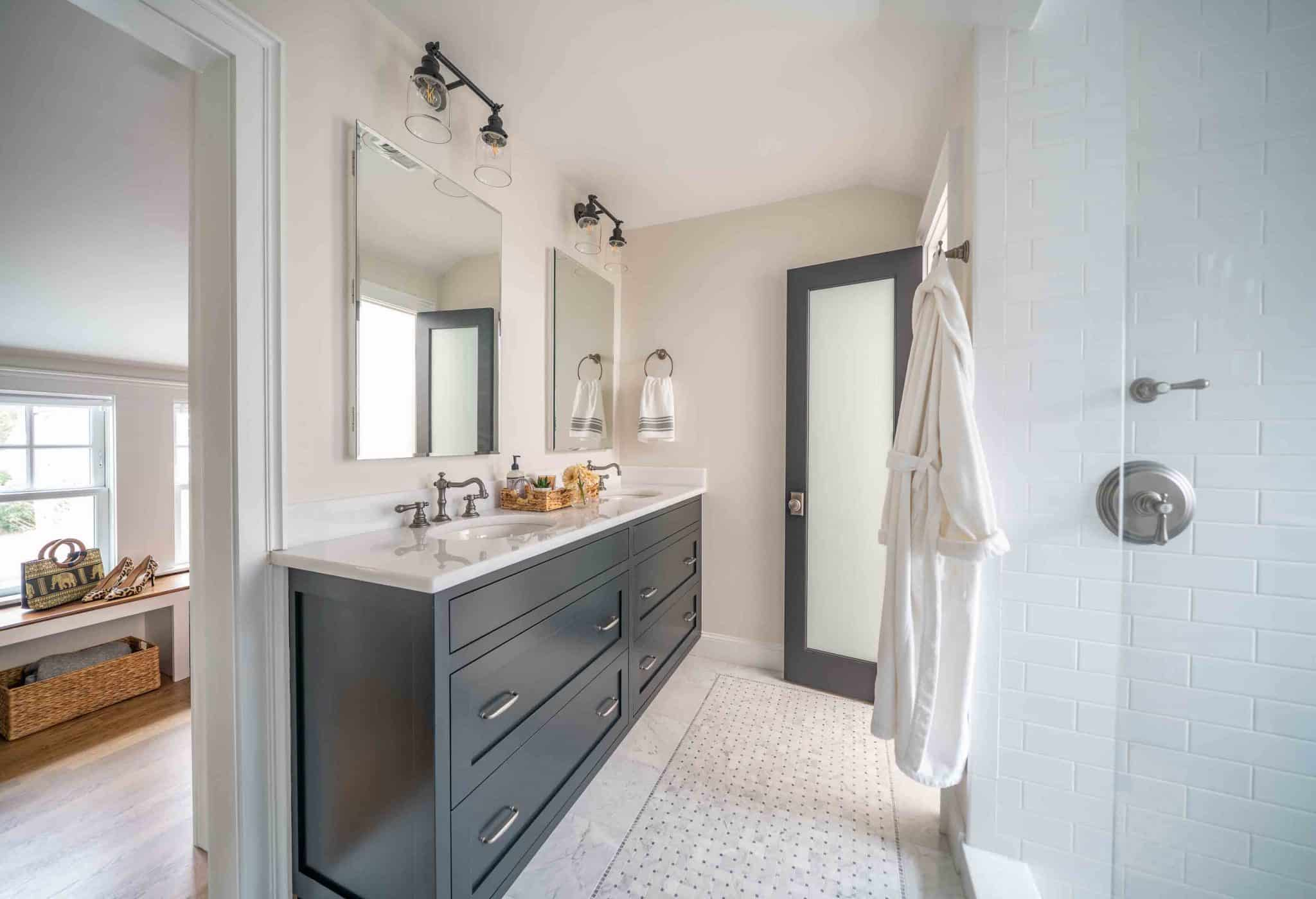 French Flair Winchester MA Bathroom
