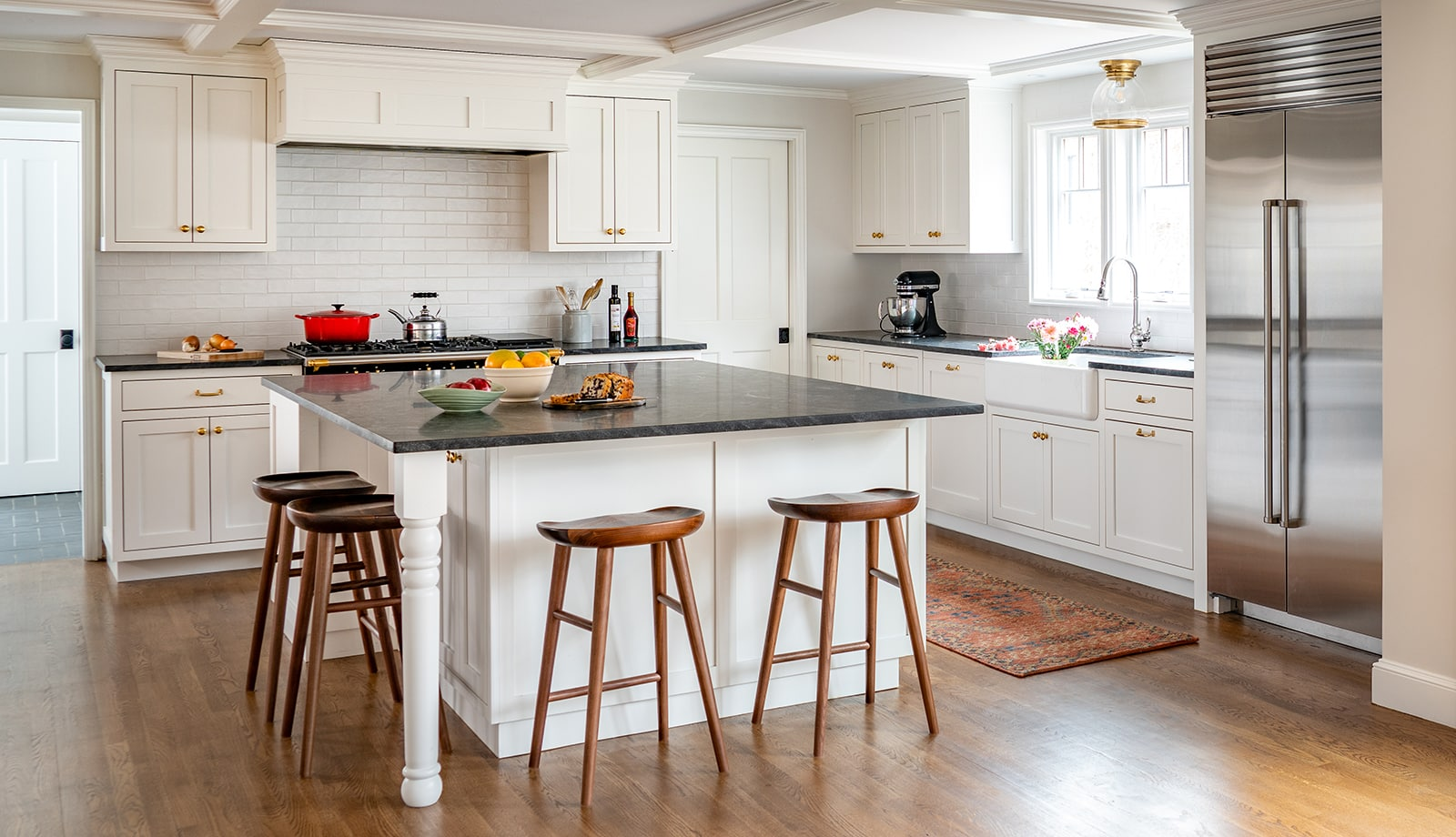 French Flair Winchester MA Kitchen featured