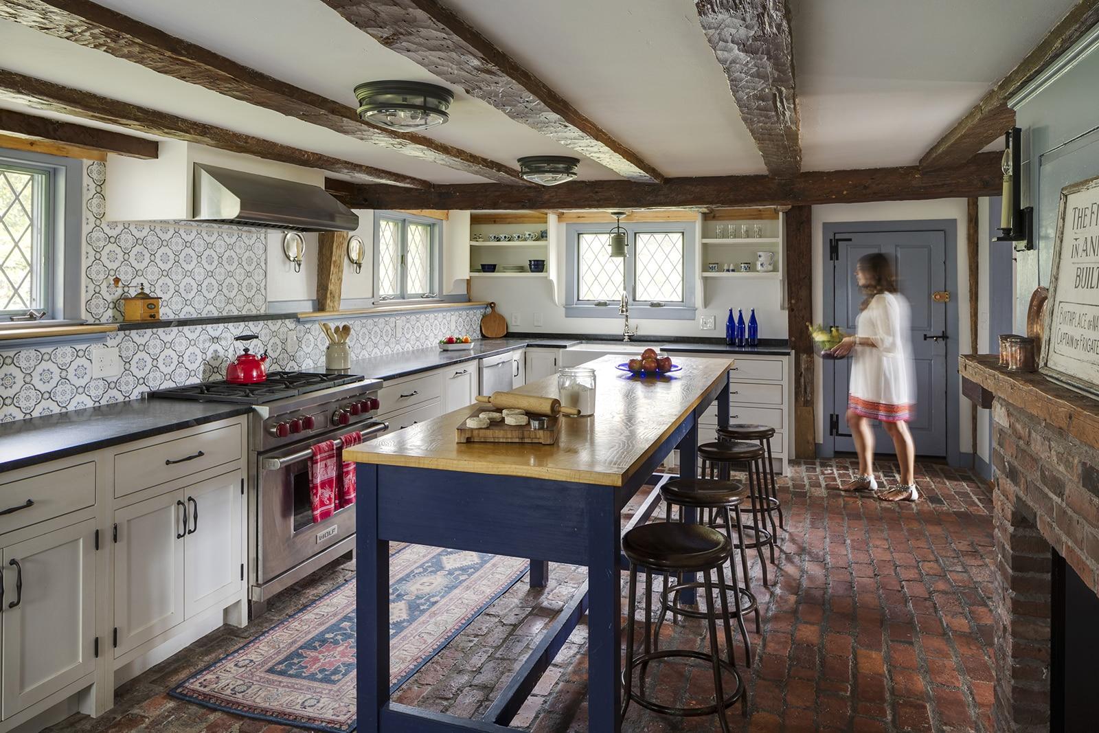 Harraden House Annisquam MA Kitchen