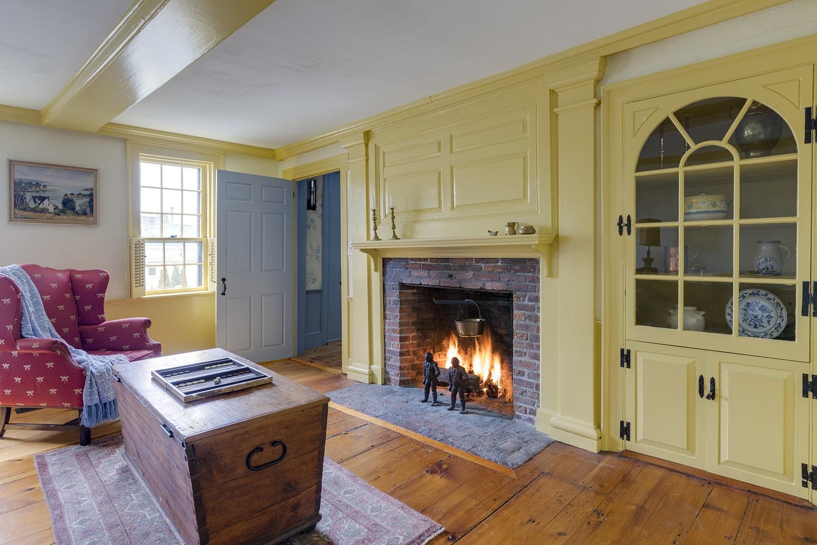 Harraden House Annisquam MA Living Room