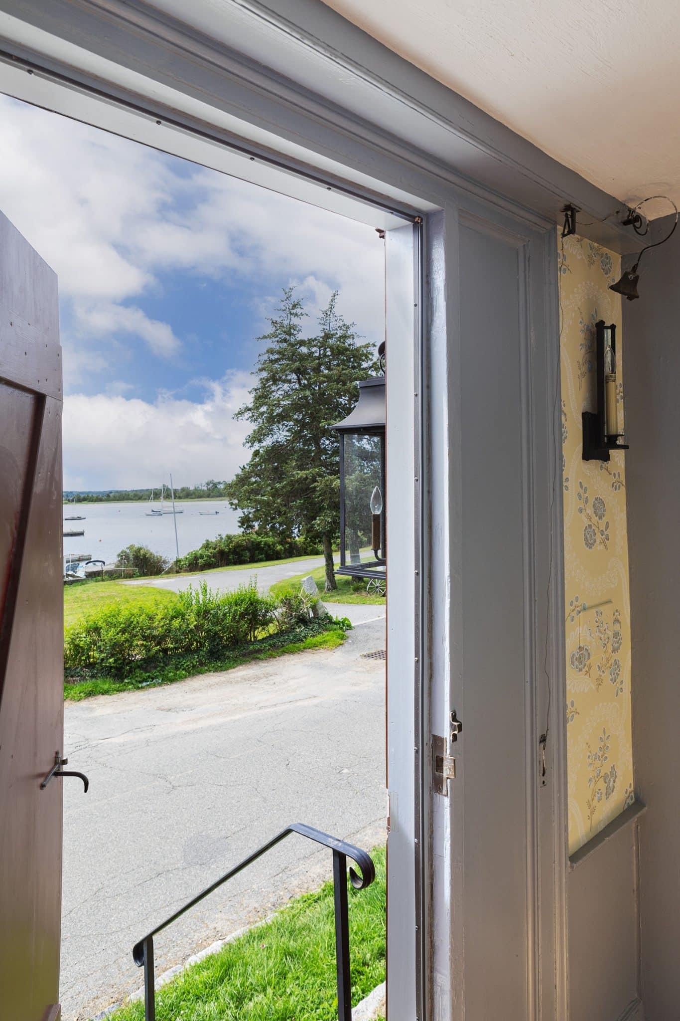 Harraden House Annisquam MA View Front Door