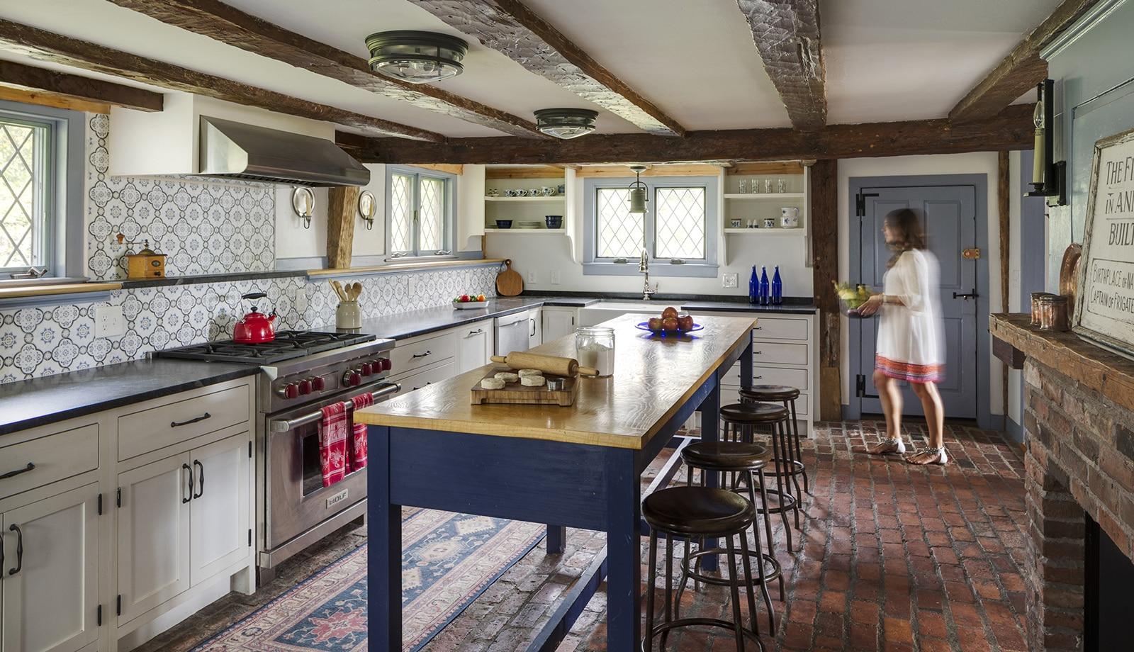Harreden House Annisquam MA Kitchen Featured
