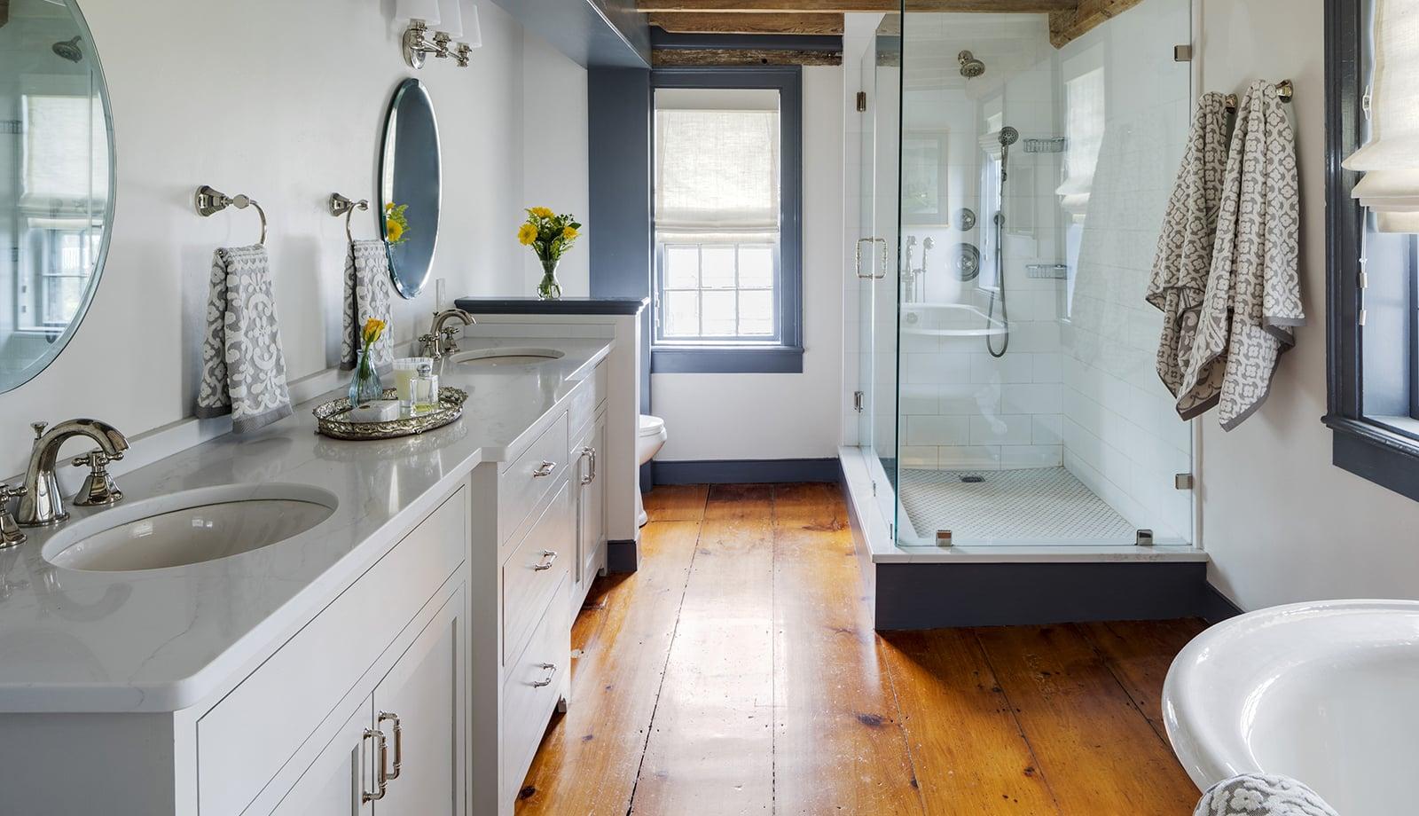 Harreden House Annisquam MA Master Bathroom featured