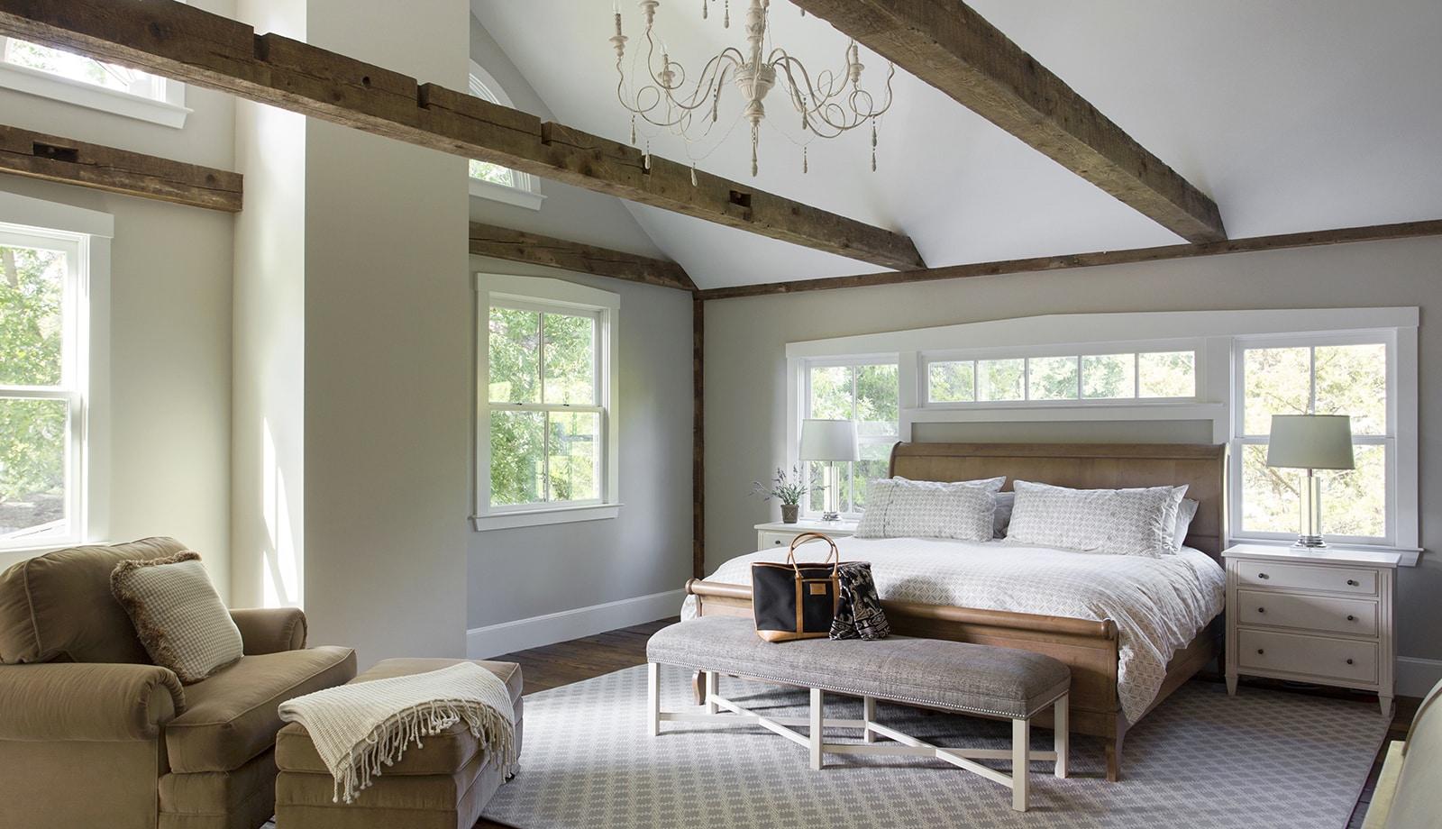 Lynnfield MA Farmhouse Interior Bedroom