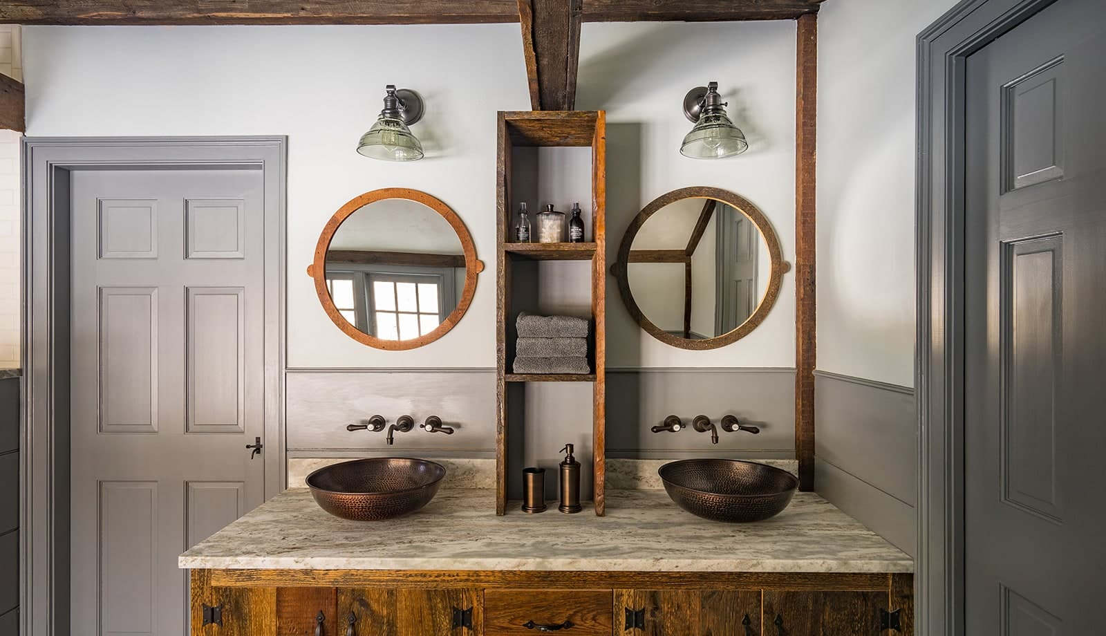 New Hampshire Homestead Historic Interior Bathroom