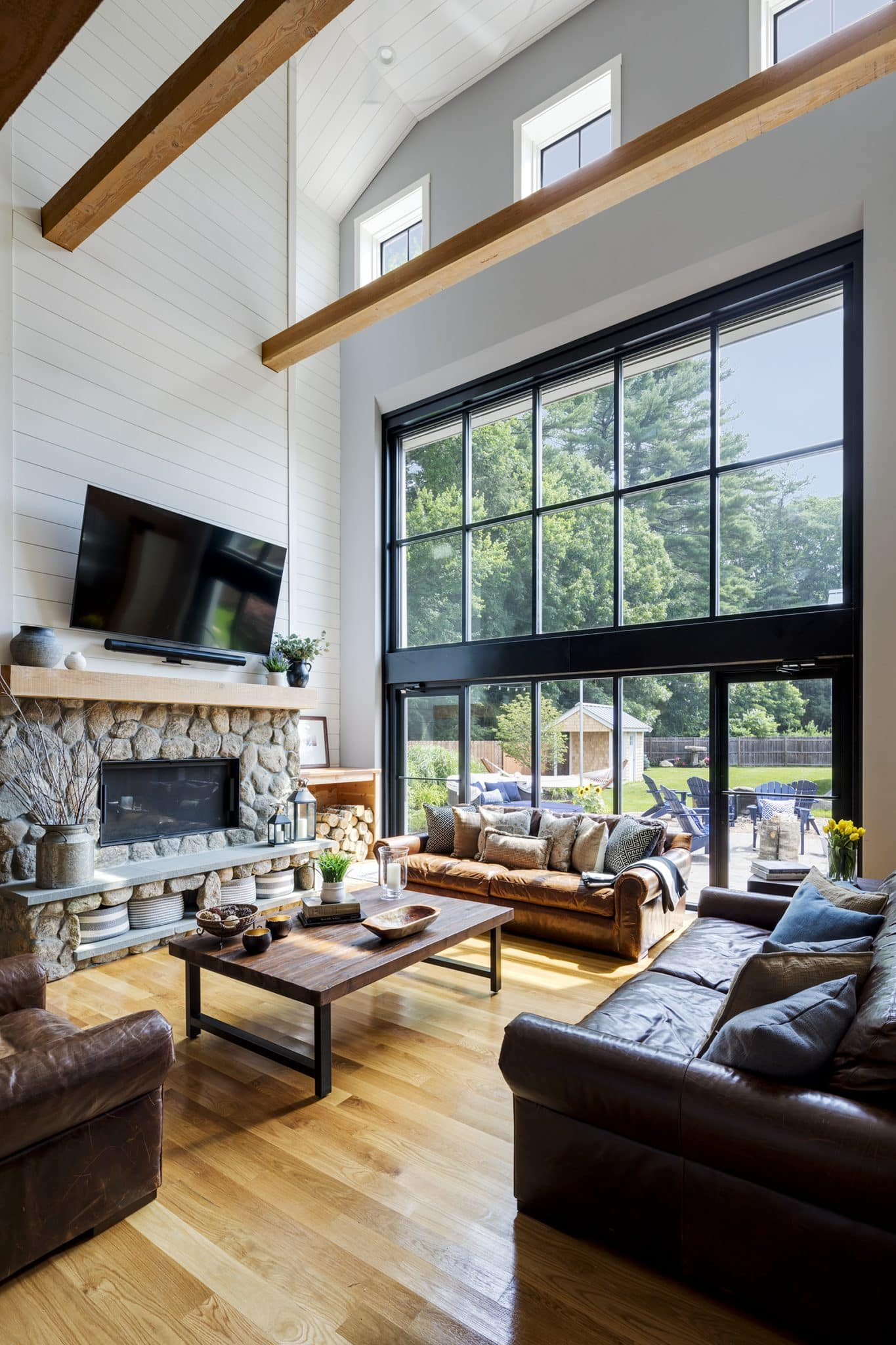 Twin Hills Farm Rowley MA Living Room scaled