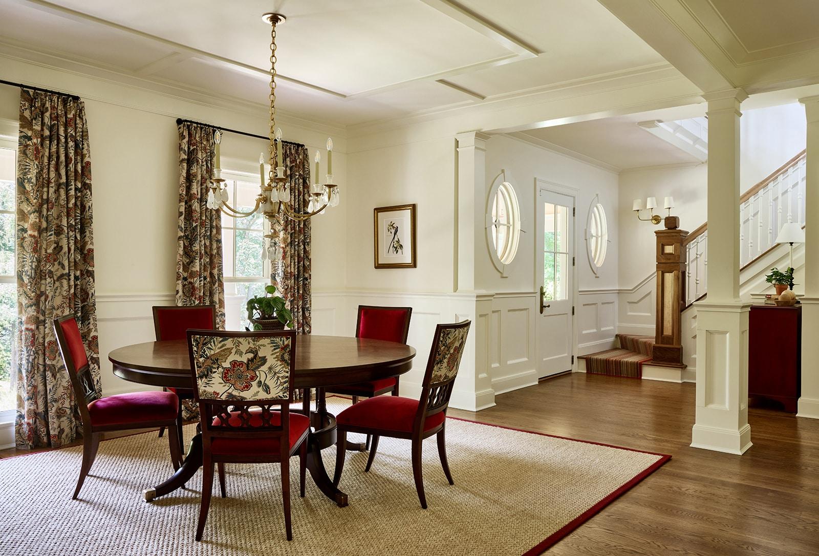 Weston Manor Weston MA Dining Room